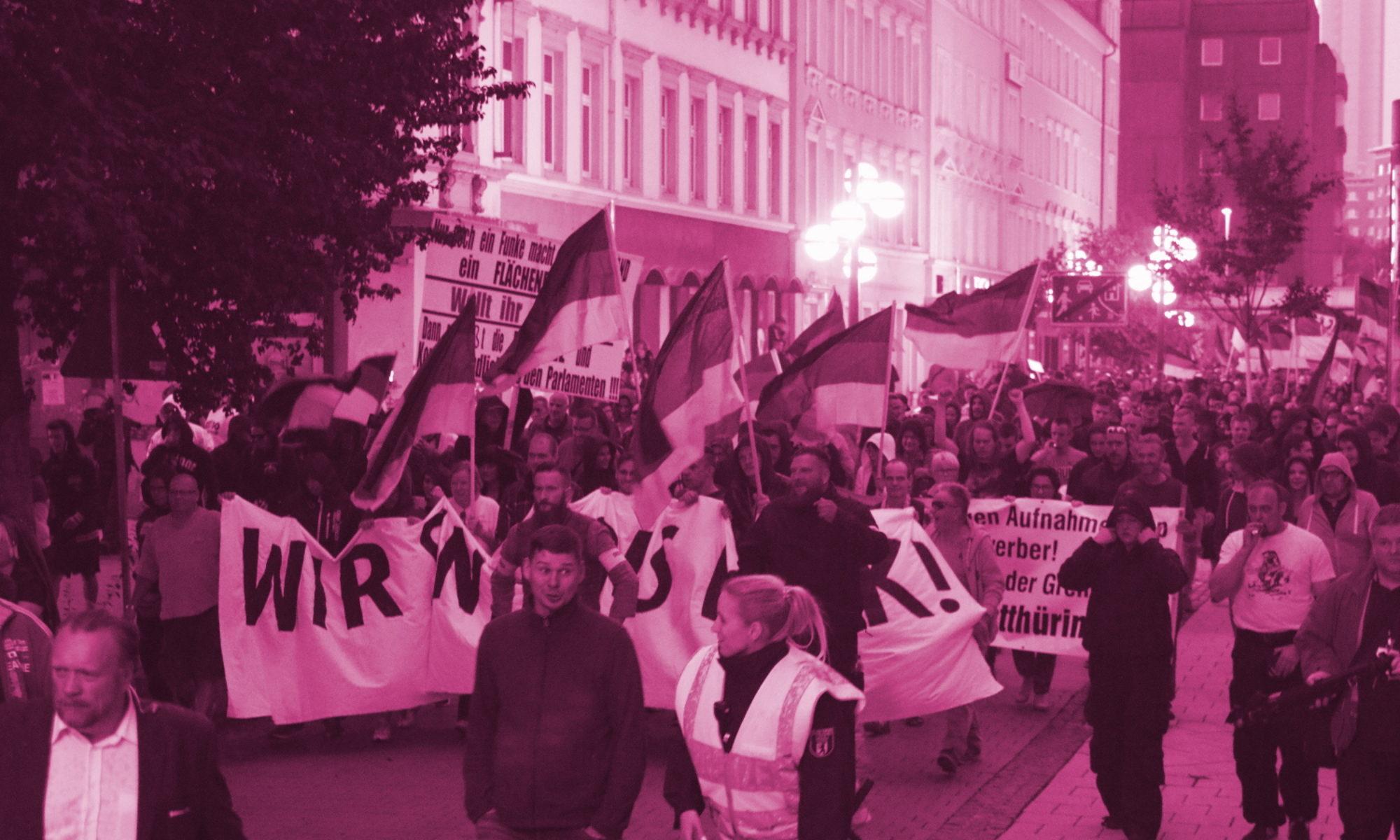 "Prozesstagebuch ""Revolution Chemnitz"""